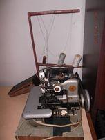 Оверлок 3-х нитковий промисловий з мотором та педаллю
