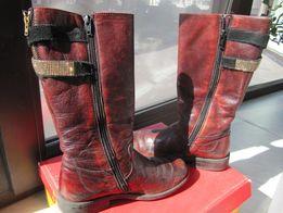 Сапоги кожаные FRODDO на девочку 33 р. 21,5 см.