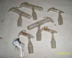 Дозаторы для амилового спирта и серной кислоты (1 и 10 мл). Керн 19.