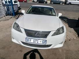 2006 Lexus IS 250 evacuate Automatic and leather seat