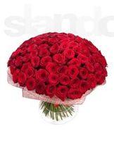 Акция - 101 роза от 1500 грн.! Букеты,композиции, доставка.