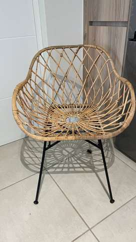 Boho chic rattan chair bought from Superbalist