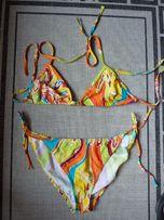 Kolorowe bikini - rozmiar 40 - Strój plażowy dwu częściowy
