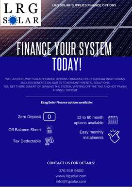 Solar Finance and Deals