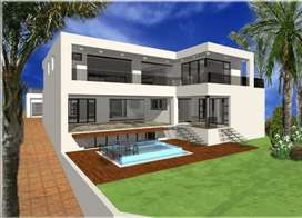 70% Finished House with approved plans