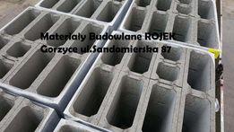 PUSTAK SZALUNKOWY 25 bloczek betonowy fundamentowy szalunek tracony