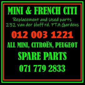 MINI AND FRENCH CITI SPARES FOR SALE