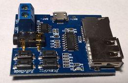 Mp3 модуль. Воспроизводит mp3 с флешки или MicroSD