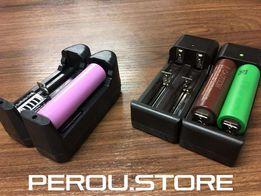 Универсальное зарядное для аккумулятора 18650 (электронные сигареты)