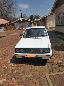 Golf 1 1.4 white for sale