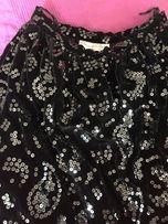 Oryginalna Oscar de la Renta, vintage, długa aksamitna spódnica