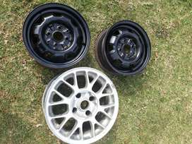 I have 2 toyota 13 inch rims and 1.17 inch tsw mag