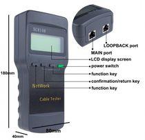 Тестер кабельный SC8108/LCD4042, RJ-45, LCD Display с поиском обрыва