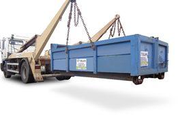 Wywóz gruzu kontener na gruz budowlany kontener na odpady Nowa Sól
