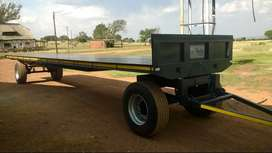 Bale trailer 11m flat deck any colour