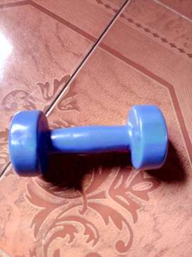 Glass scale, dumbells, training gloves for ladies for sale