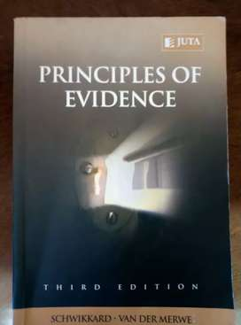 Priciples of evidence
