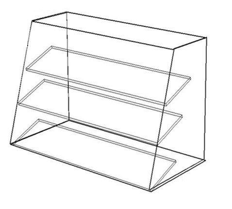 Стеклянные витрины(стеклянный куб). Торговые витрины.