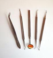 Kolekcja narzędzi dentystycznych