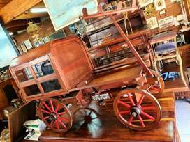 Solid OX WAGON drinks/cabinet display