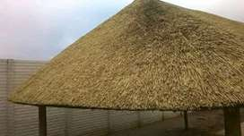 New thatch lapas and repair