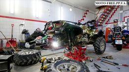 Ремонт мототехники скутеров,мотоциклов MOTO-FREE