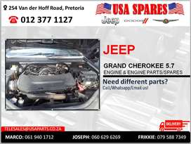 JEEP GRAND CHEROKEE 5.7 USED ENGINE & ENGINE PARTS/SPARES