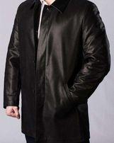 Мужская кожаная куртка-полупольто Производитель: R&B Leather