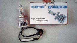 Авто/мото лампа H4 Led CREE Hi/Lo,6000K,30 Вт 3000LM