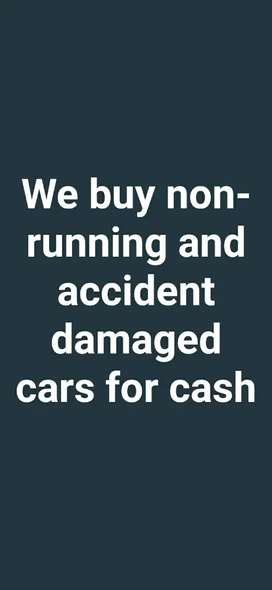 We Buy Non - Running And Accident Damaged Cars