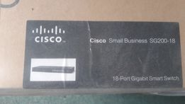 Коммутатор Cisco SB SG 200-18 (SLM2016T-EU)