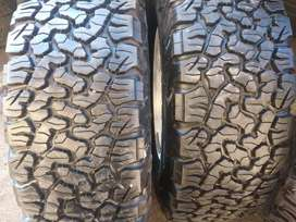 Two new bfgoodrich ko2 sizes 30x9.50R15 now available