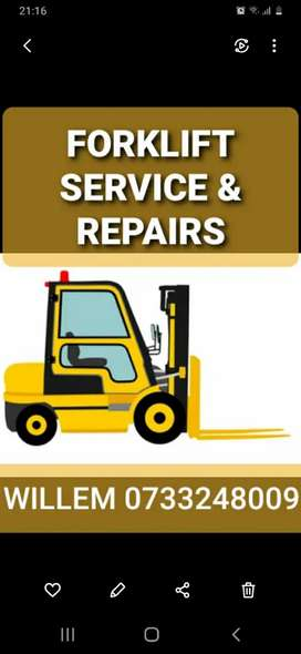 FORKLIFT SERVICE & REPAIRS