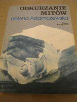 """książka """"Odkurzanie mitów"""" Helena Adamczewska"""