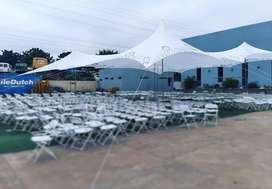 Cheese/Web stretch tents for sale R700