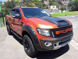 2015 MODEL FORD RANGER DOUBLE CAB 3.2 TDCi WILDTRAK 4X4 AUTOMATIC