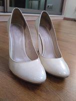 Кожаные туфли Braska,38 размер