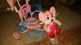 Rowerek myszka trójkołowy