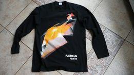 bluza z długim rękawem NOKIA NSERIES koszulka L czarna