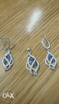 Image of Pendant and Earring