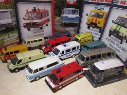 Машинки. Микроавтобусы ( М 1х43)