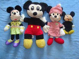 Myszki Miki różne maskotki 5 sztuk największa ma 42 cm