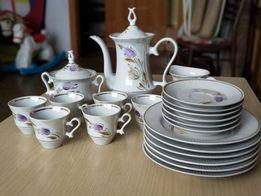 Кофейный сервиз, СССР, посуда, чашки, тарелки, заварник, сахарница