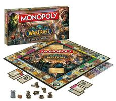 Продам World of Warcraft monopoly монополия Варкрафт