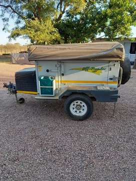 Eco 4 Off Road camping trailer