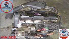 GOLF/PASSAT/POLO 1.8L 4CYL USED ADZ ENGINES FOR SALE