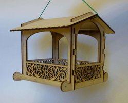 3057 Кормушка для уличных птиц (синичник, годівничка)
