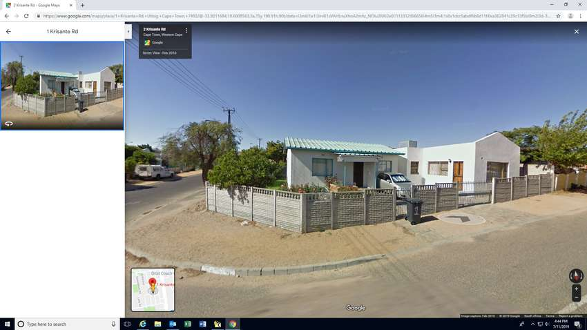 Uitsig Property for sale (close to Ravensmead High school) 0
