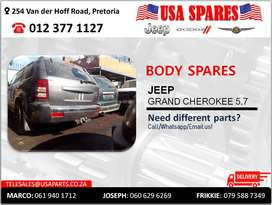 JEEP GRAND CHEROKEE 5.7 NEW & USED BODY SPARES/PARTS
