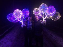 Светящиеся шарики LED шары бобо BOBO опт+ПОДАРОК